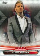 2019 WWE Raw Wrestling Cards (Topps) Corey Graves 18
