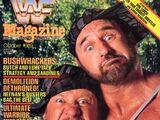 WWF Magazine - October 1989