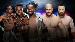 RB 2016 New Day v Cesaro & Sheamus