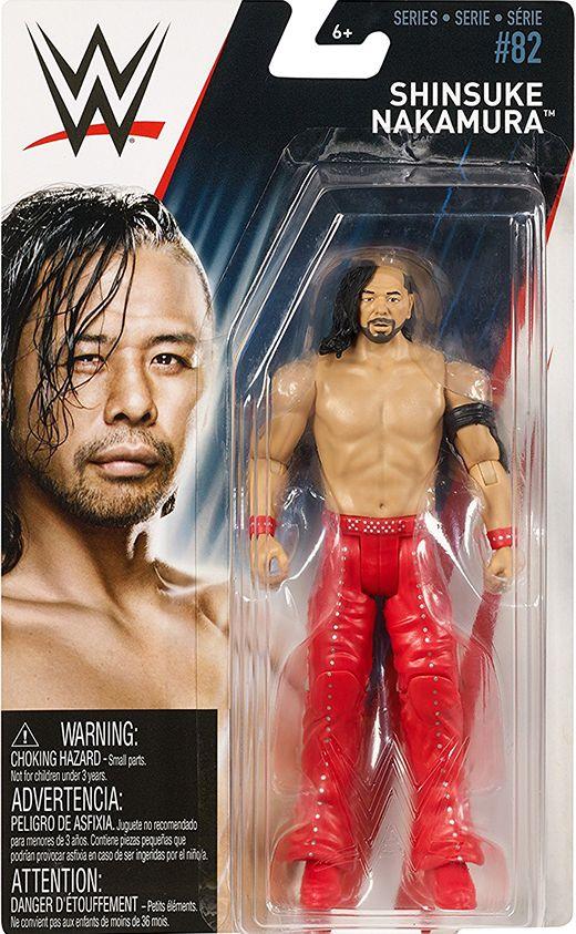 Bliss Ambrose A WWE Mattel Série 91 figurines: Drew Gulak Balor Shinsuke Nakamura