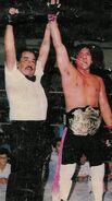 Jerry Estrada CMLL World Light Heavyweight