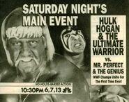 Saturday Night's Main Event XXV Ad