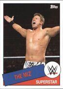 2015 WWE Heritage Wrestling Cards (Topps) The Miz 80