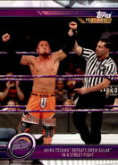 2019 WWE Road to WrestleMania Trading Cards (Topps) Akira Tozawa 44