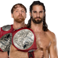 Ambrose & Rollins Raw Tag Team Champions