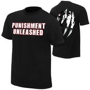 Batista Punishment Unleashed Retro Authentic T-Shirt