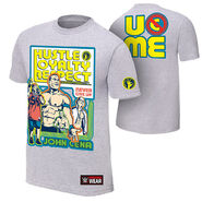 John Cena Throwback Gray Authentic T-Shirt