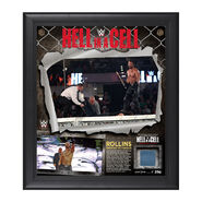Seth Rollins Hell In A Cell 2014 Commemorative Framed Collage