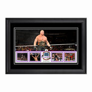 WWE Night of Champions 2014 Commemorative Ring Canvas Plaque