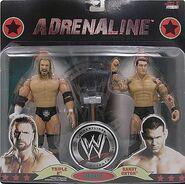 WWE Wrestling Adrenaline Series 37 Triple H & Randy Orton