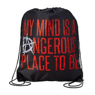 Dean Ambrose My Mind is a Dangerous Place Drawstring Bag