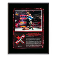 Dolph Ziggler Extreme Rules 2018 10 x 13 Plaque