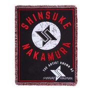 Shinsuke Nakamura The Artist Tapestry Blanket