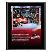 WrestleMania 36 Braun Strowman 10 x 13 Limited Edition Plaque