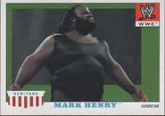 2008 WWE Heritage IV Trading Cards (Topps) Mark Henry 33