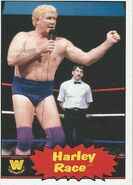 2012 WWE Heritage Trading Cards Harley Race 78