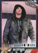 2013 TNA Impact Glory Wrestling Cards (Tristar) AJ Styles 73