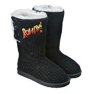 Ronda Rousey Women's Button Boots