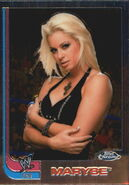 2008 WWE Heritage III Chrome Trading Cards Maryse 68