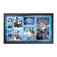 AJ Styles WrestleMania 33 Signed Commemorative Plaque