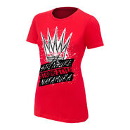 Shinsuke Nakamura King of Strong Style Women's Authentic T-Shirt