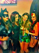The Bellas 2012 Halloween Instagram