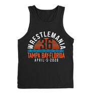 WrestleMania 36 Waves Tank Top