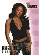 2004 WWE Chaos (Fleer) Gail Kim 82