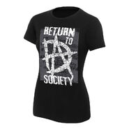 Dean Ambrose Return to Society Women's Authentic T-Shirt