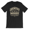 BOBBY LASHLEY & MICKIE JAMES MMC COUNTRY DOMINANCE UNISEX T-SHIRT