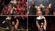 Grand Slam winners Roman Reigns