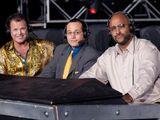 Joey Styles, Jerry Lawler & Jonathan Coachman