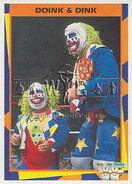 1995 WWF Wrestling Trading Cards (Merlin) Doink & Dink 122