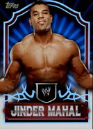 2011 Topps WWE Classic Wrestling Jinder Mahal 32