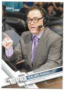 2017 WWE Wrestling Cards (Topps) Mauro Ranallo 51