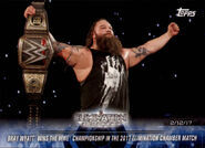 2018 WWE Road to Wrestlemania Trading Cards (Topps) Bray Wyatt 73