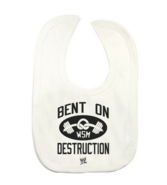 Mark Henry Bent On Destruction white bib