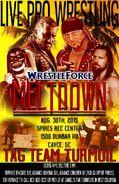 WrestleForce Meltdown 2015 - Tag Team Turmoil Poster