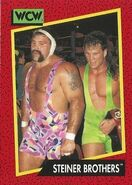 1991 WCW (Impel) Steiner Brothers 115