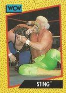 1991 WCW (Impel) Sting 8