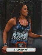 2010 WWE Platinum Trading Cards Tamina 38