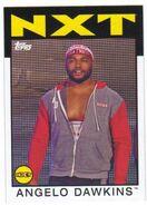 2016 WWE Heritage Wrestling Cards (Topps) Angelo Dawkins 57