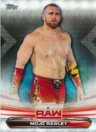 2019 WWE Raw Wrestling Cards (Topps) Mojo Rawley 51