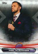 2019 WWE Raw Wrestling Cards (Topps) Nigel McGuinness 85