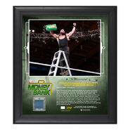 Braun Strowman Money in The Bank 2018 15 x 17 Framed Plaque w Ring Canvas
