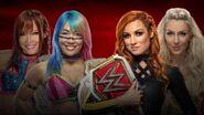 TLC 2019 Kabuki Warriors vs. Becky & Charlotte