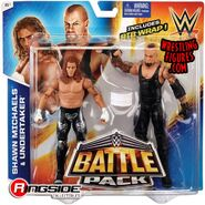 WWE Battle Packs 33 Undertaker & Shawn Michaels