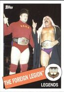 2015 WWE Heritage Wrestling Cards (Topps) The Foreign Legion 16