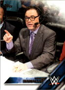 2016 WWE (Topps) Then, Now, Forever Mauro Ranallo 133