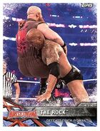 2017 WWE Road to WrestleMania Trading Cards (Topps) The Rock 65